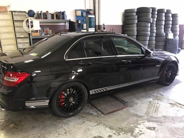 covering c63 amg